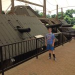 Boarding the USS Cairo at the USS Cairo Gunboat Museum in Vicksburg National Military Park
