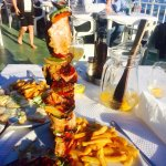 Top food stunning view