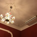 Non working air con and Chandelier