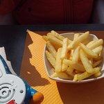 Portion de frites à 2€80