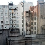 Vue de ma fenêtre de chambre