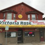 Front of Victoria Rose's fantastic Mexican restaurant, Beloit, WI