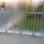 Condensation intérieure, châssis en alu qui pleurent
