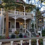 The lovely Peace and Plenty B&B in St. Augustine.