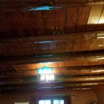 Gorgeous wood beam ceilings