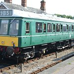 DMU at the Colne Valley Railway