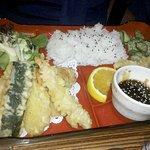 another non sushi plate. Calamari I think.