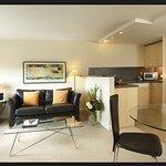 Sitting-room & kitchen