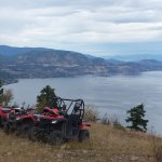 Great views with Okanagan ATV Tours