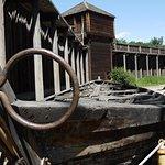 The old Fort Edmonton