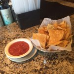 chips and salsa upon arrival.