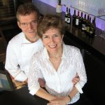 Proprietors - Chef Ernst Dorfler & his wife, Gerry Sayers