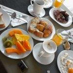 petit déjeuner du dimanche matin 2.400 FCFP/personne à volonté
