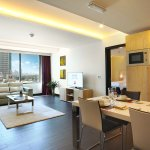 One Bed room apartment : Living,Dining and fully kitchentte
