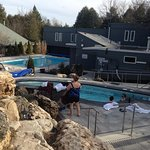 1 0f the hot springs and the out door pool