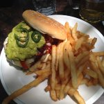 Avocado burger...yummy!