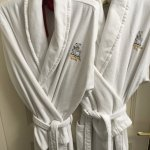Nice bathrobes provided
