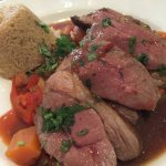 Lamb with north African spices
