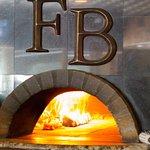 The wood stove