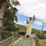 Lady Liberty in St Martin