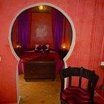 Arabian Suite bedroom from lounge