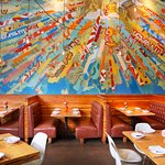 The dining room at La Condesa in Austin, TX.