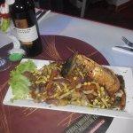platos típicos del restaurante del Carajo