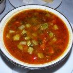 Fresh, Homemade Vegetable Soup