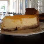Yummy Baked Mascopone Cheese Cake  which mango.