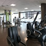 Nice fitness room