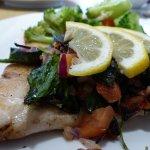 Mahi-mahi fish dinner