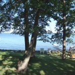 The view from the Beach House and Shoreview lake home