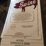Photo of Swine Southern Table and Bar