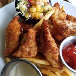 Swordfish & chips