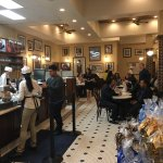 The interior of Cafe section of Ghiraldelli's
