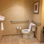 Accessible bathroom was huge