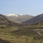 rugged scenery of the Cairngorms