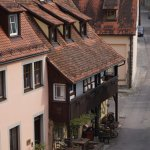 Gastehaus viewed from City Wall walkway