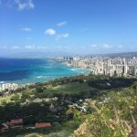 View of Waikiki from Diamond Head - well worth the visit