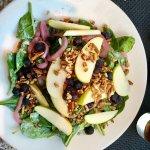 Spinach salad at Cafe Noma- great big fresh salad. Fair value.