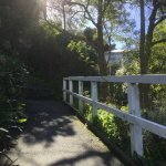 a peaceful autumn walk past Joe's Place