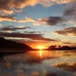 Sunrise over the Tairua Harbour