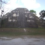 Temple in Flores