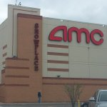 the AMC Showplace and an adjacent entrance from the parking lot