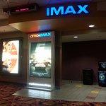 the IMAX theatre entrance
