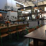 Great relaxed open space. Ideal for a casual meeting, coffee, drinks or a meal. Does not open la