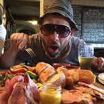 platter of meat at Packhorse Inn Longstone