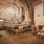 Die Bar des Vallocaia Gewölbekeller im Ristorante Verdi