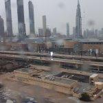 Vu de la chambre coté gauche de la burj khalifa