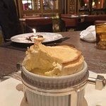 souffle at the Dorchester grill